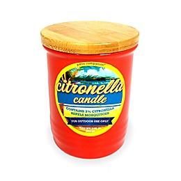 Patio Companion® Citronella Candle in Red