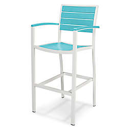 POLYWOOD® Euro All-Weather  Bar Arm Chair