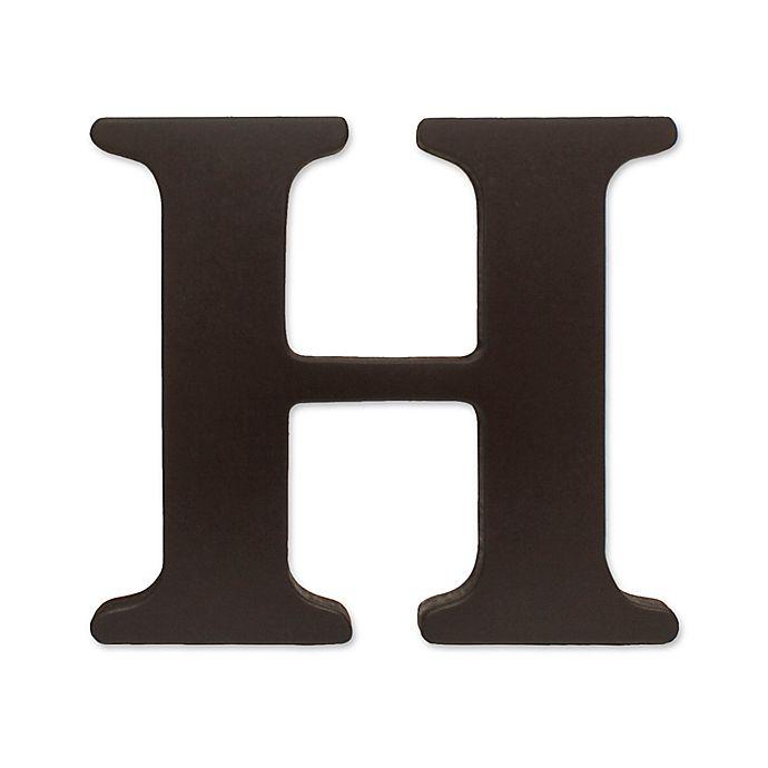 Kidsline Espresso Wooden Letter Quot H Quot Bed Bath Amp Beyond