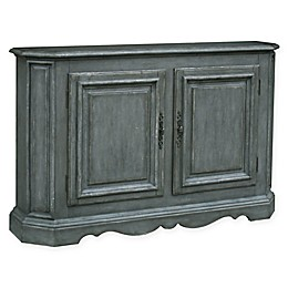 Pulaski Sojourn Console in Weathered Grey