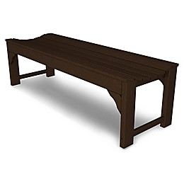 POLYWOOD® Traditional Garden 60-Inch Backless Bench