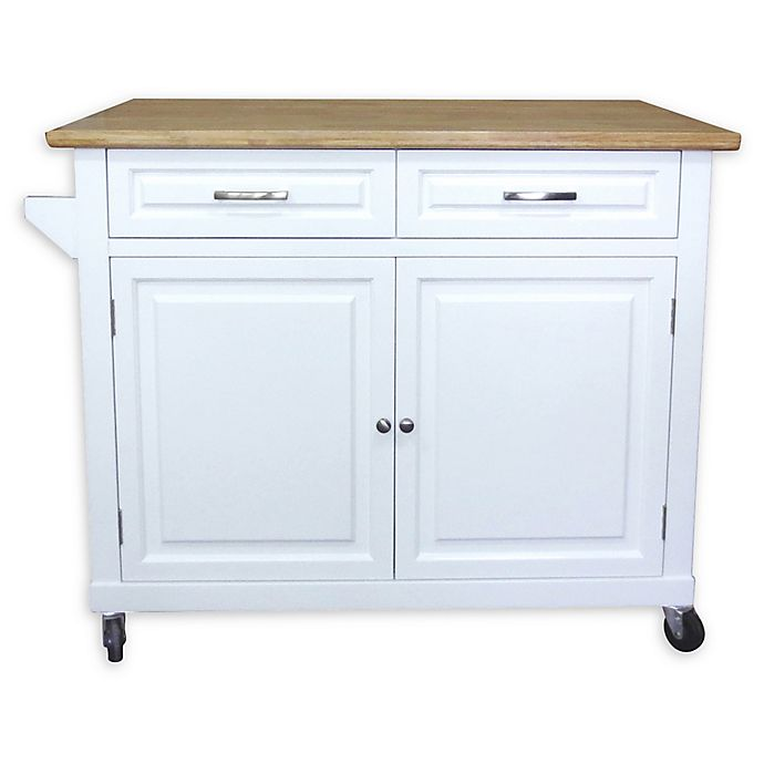 Alternate image 1 for No Tools Kitchen Island