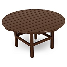 POLYWOOD® La Casa 38-Inch Round Conversation Table