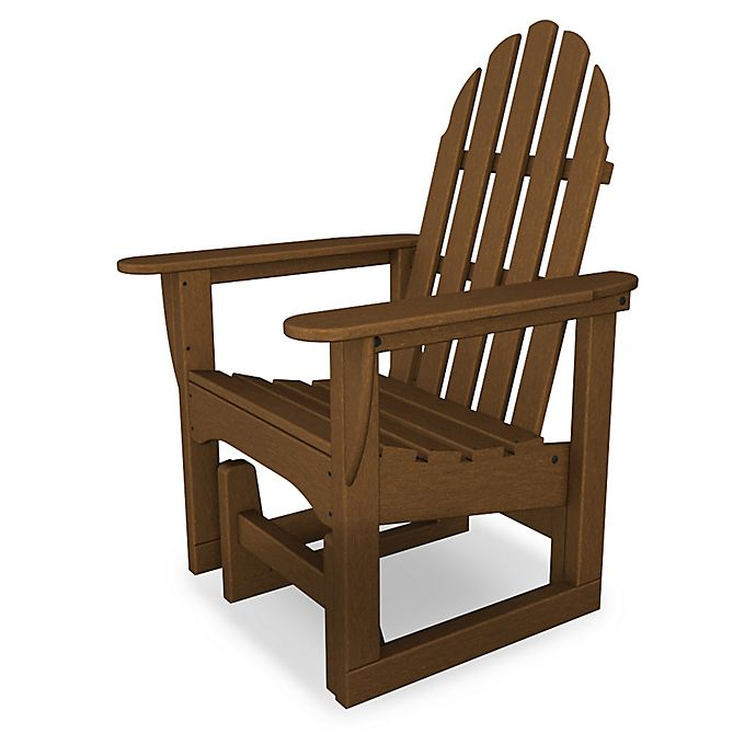 Alternate image 1 for POLYWOOD® Classic Adirondack Glider Chair