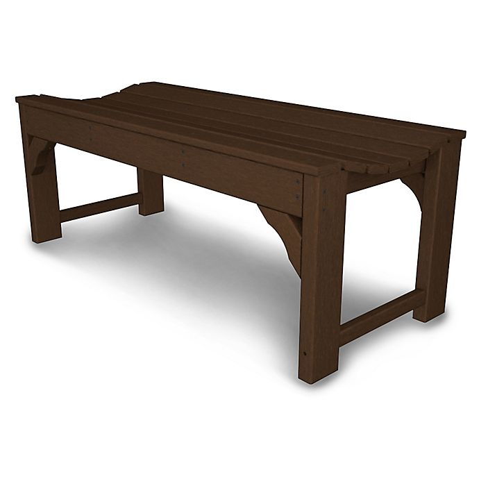 Alternate image 1 for POLYWOOD® Traditional Garden 48-Inch Backless Bench