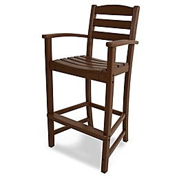 POLYWOOD® La Casa Bar Arm Chair