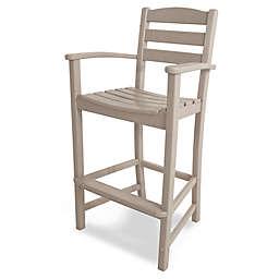 POLYWOOD® La Casa Bar Arm Chair in Sand