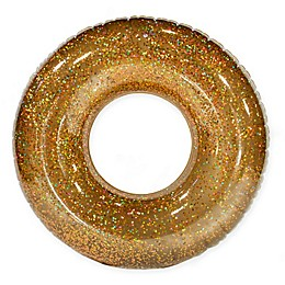 Pool Candy Holographic Glitter Beach and Pool Tube in Gold