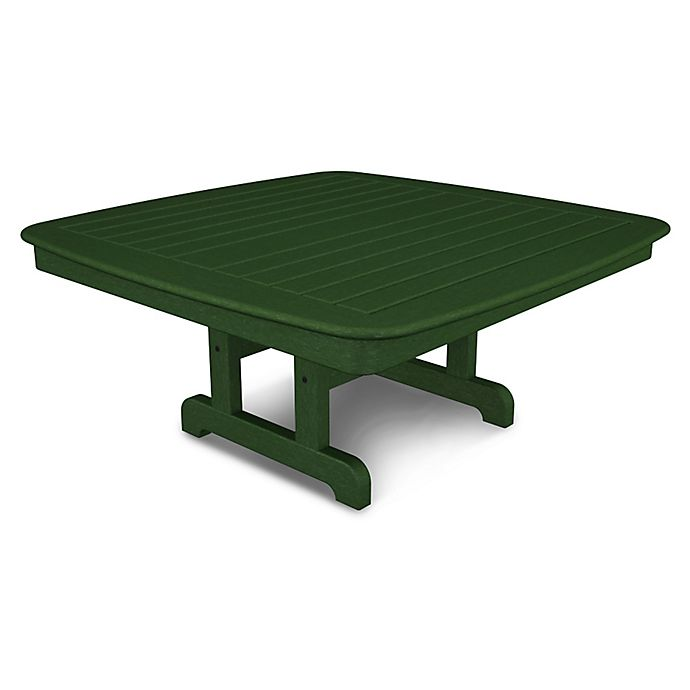 Alternate image 1 for POLYWOOD® Nautical 44-Inch Conversation Table in Green