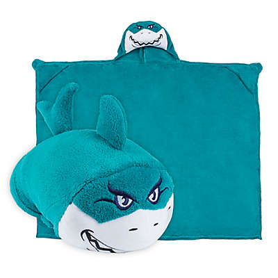 Comfy Critters™ Shark Wearable Stuffed Animal in Blue