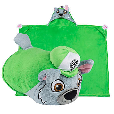 Comfy Critters™ PAW™ Patrol Rocky Wearable Stuffed Animal in Green