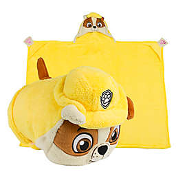 Comfy Critters™ PAW™ Patrol Rubble Wearable Stuffed Animal in Yellow
