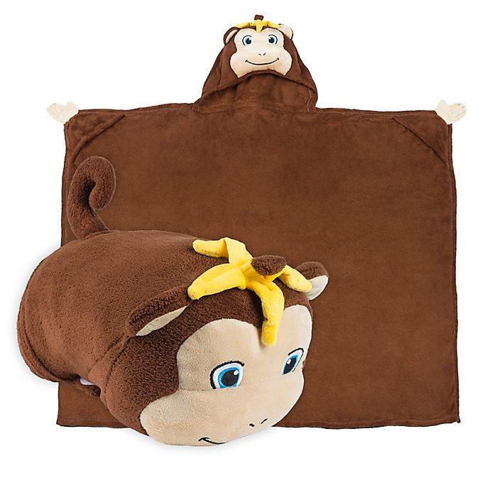 Comfy Critters Monkey Wearable Stuffed Animal In Brown Buybuy Baby