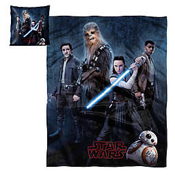 Star Wars™ Episode 8 Hugger & Silk Touch Throw Set
