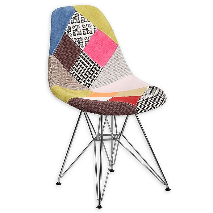 Wondrous Flash Furniture Milan Patchwork Fabric Accent Chair Bed Onthecornerstone Fun Painted Chair Ideas Images Onthecornerstoneorg