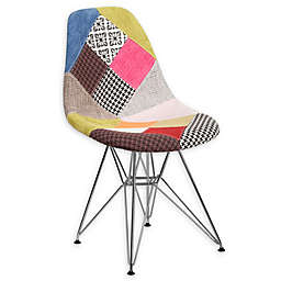 Flash Furniture Milan Patchwork Fabric Accent Chair