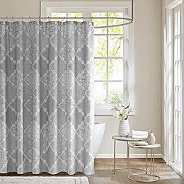 Madison Park Cadence Cotton Sateen Shower Curtain