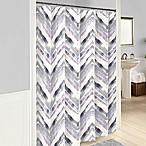 Vue® Baxter Shower Curtain in Plum
