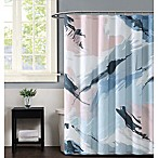 Vince Camuto Capri Shower Curtain in Blush