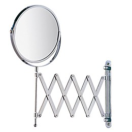 Cosmetic Wall Mirror with Telescopic Arm