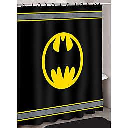 Batman Logo Shower Curtain