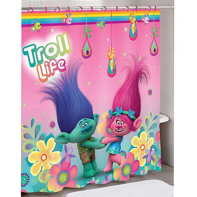Trolls Hair Hugfest Shower Curtain