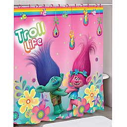 """Trolls"" Hair Hugfest Shower Curtain"