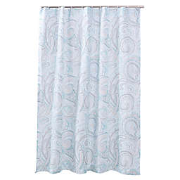 Levtex Avery Spa Shower Curtain in Blue
