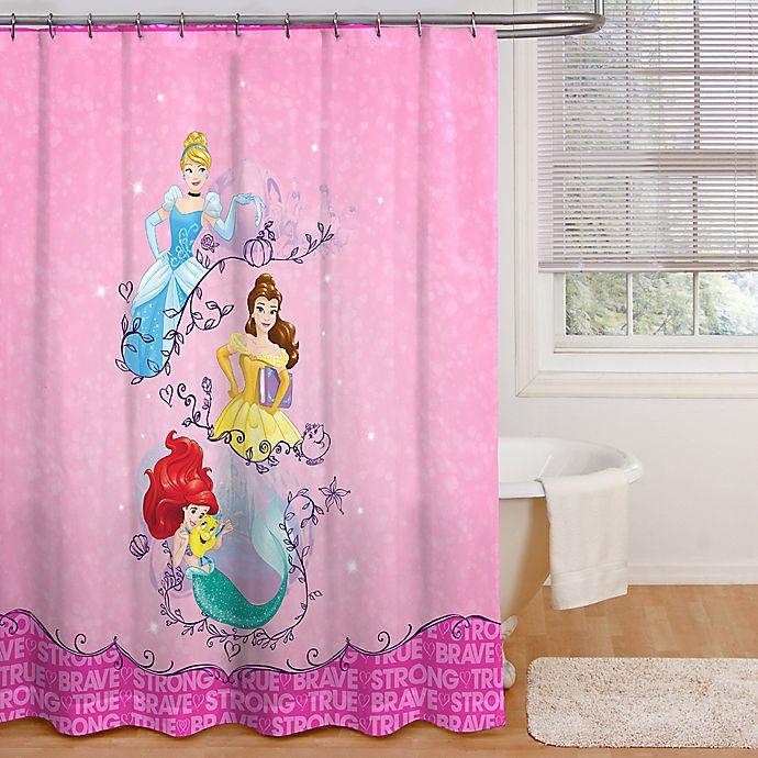 Alternate image 1 for Disney® Princess Dream Fabric Shower Curtain