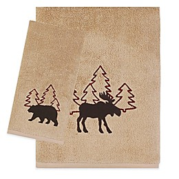 Saturday Knight Timberline Bath Towel in Wheat