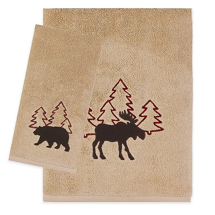 Alternate image 1 for Saturday Knight Timberline Bath Towel Collection in Wheat