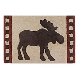 Saturday Knight Timberline 20-Inch x 30-Inch Bath Rug in Brown