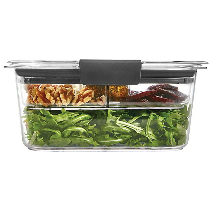 Alternate image 1 for Rubbermaid® Brilliance 5-Cup Salad Storage Container