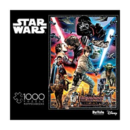 "Buffalo Games Star Wars Vintage Art ""You'll Find I'm Full of Surprises"" 1000-Piece Jigsaw Puzzle"
