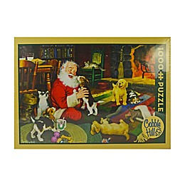 Cobble Hill Puzzle Company Santa's Playtime 1000-Piece Jigsaw Puzzle