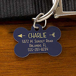 Modern Arrow Dog ID Tag