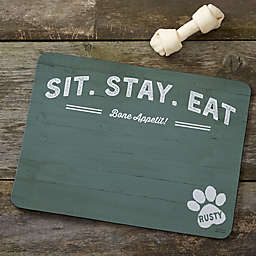 Farmhouse Style Dog Food Mat