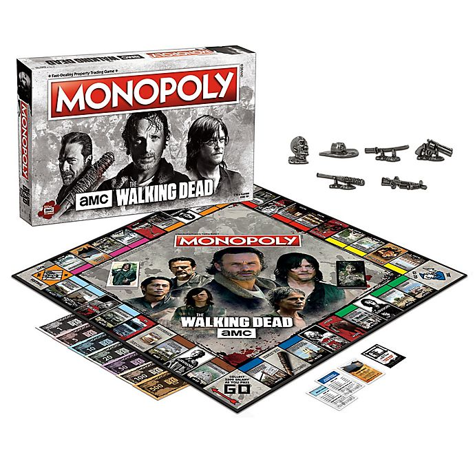 Monopoly The Walking Dead Deutsch