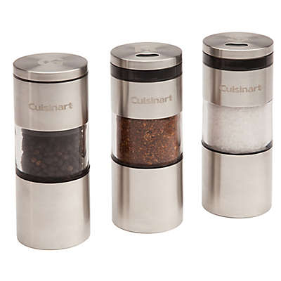 Cuisinart® 3-Piece Magnetic Grilling Spice Set