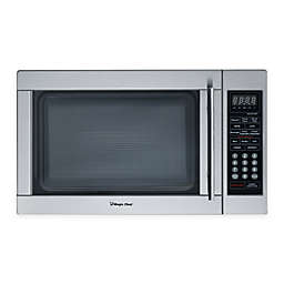 Magic Chef 1.3 cu. ft. Countertop Microwave Oven in Stainless Steel