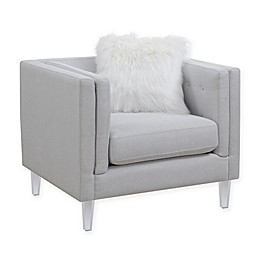 Hemet Collection Chair in Light Grey
