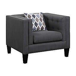 Scott Living Sawyer Collection Chair in Dusty Blue