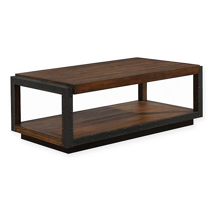 Alternate image 1 for Scott Living Industrial Style Coffee Table