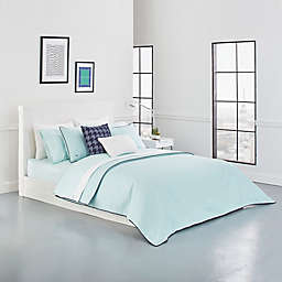 Lacoste Gorbio Twin Duvet Cover Set in Mint