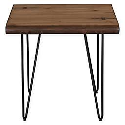 Scott Living Mid-Century Modern End Table in Honey