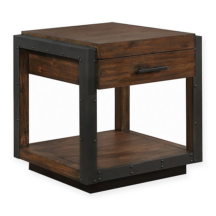 Alternate image 1 for Scott Living Industrial Style End Table