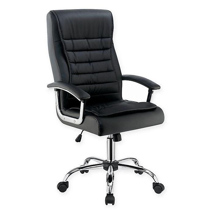 Alternate image 1 for Scott Living High Back Office Chair in Black