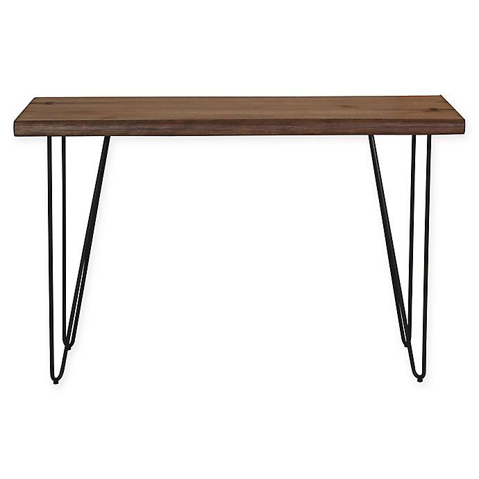 Alternate image 1 for Scott Living Mid-Century Modern Sofa Table in Honey