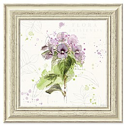 Amanti Art Floral Splash III 19-Inch Square Framed Wall Art