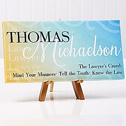 Inspiring Professional 11-Inch x 5-Inch Canvas Wall Art